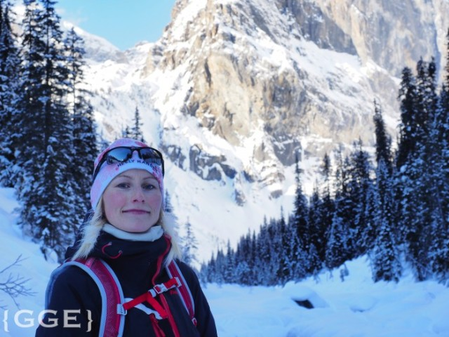 Snowshoeing Emerald Lake Lodge