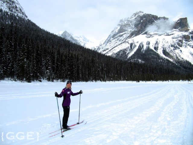 Skiing at Emerald Lake Lodge