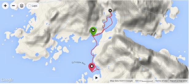 Schoppe Bay map
