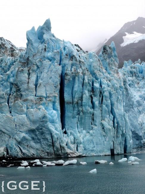 Meares Glacier Alaska