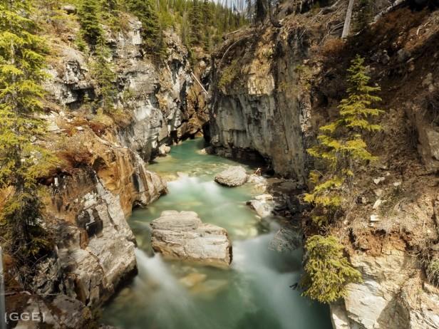 Marble Canyon Kootenay National Park