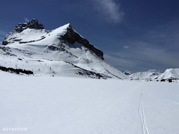 banff national park cross-country skiing