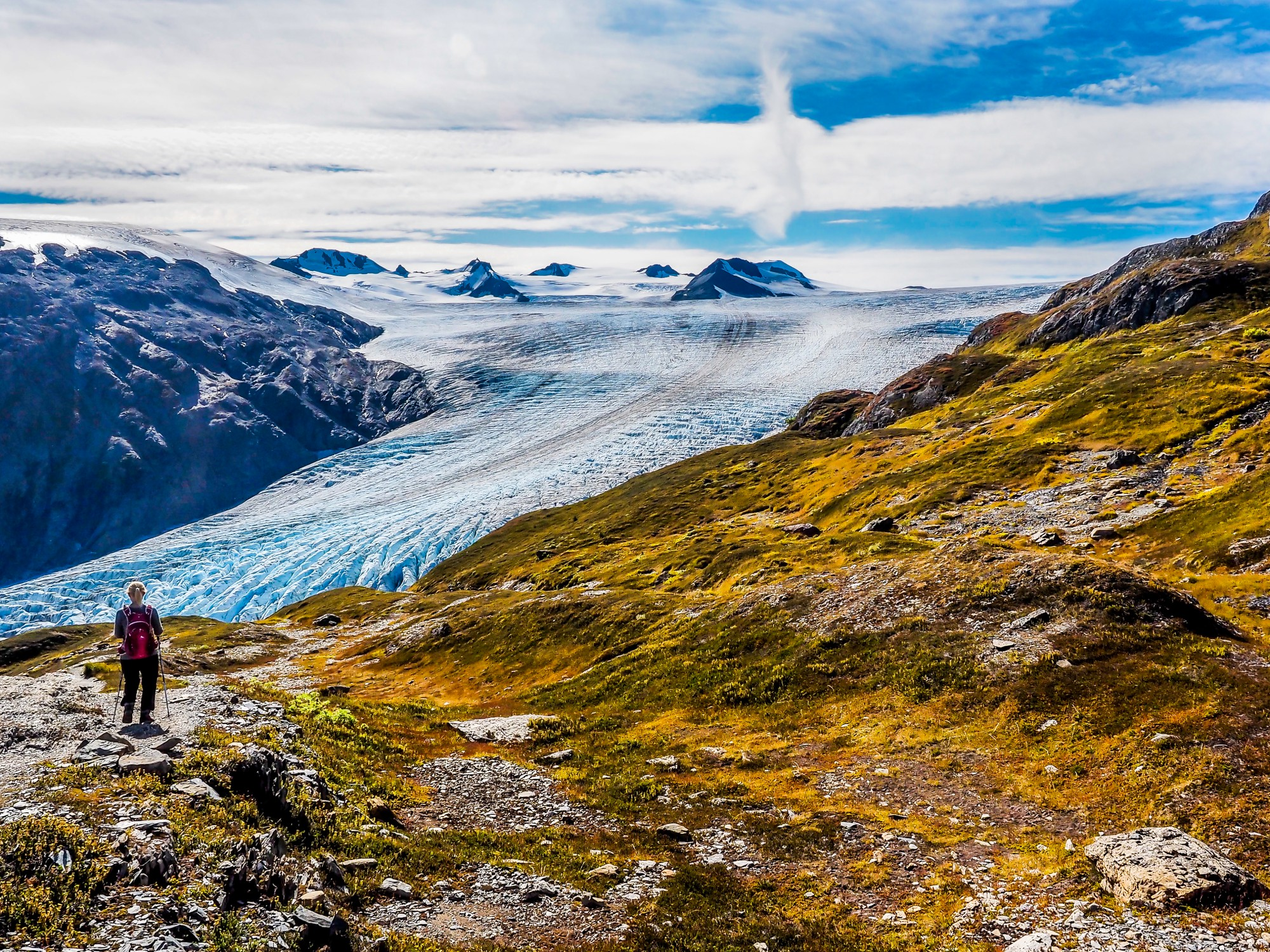 Hiking the Harding Icefield Adventure 69North