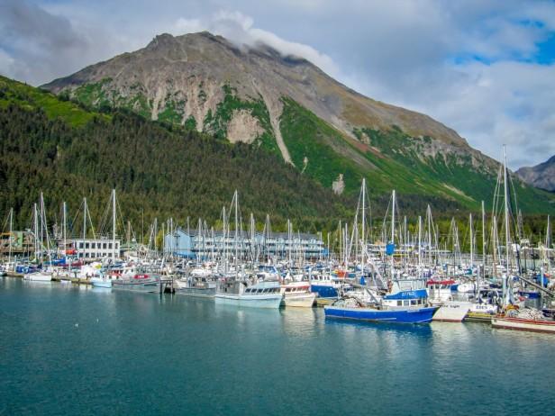 Harbour Seward Alaska