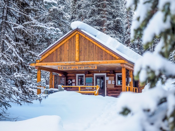 Yoho National Park Skiing