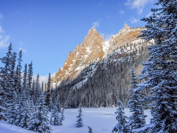 Yoho National Park Skiing