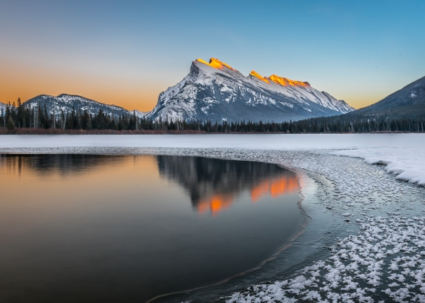Sunset Banff National Park