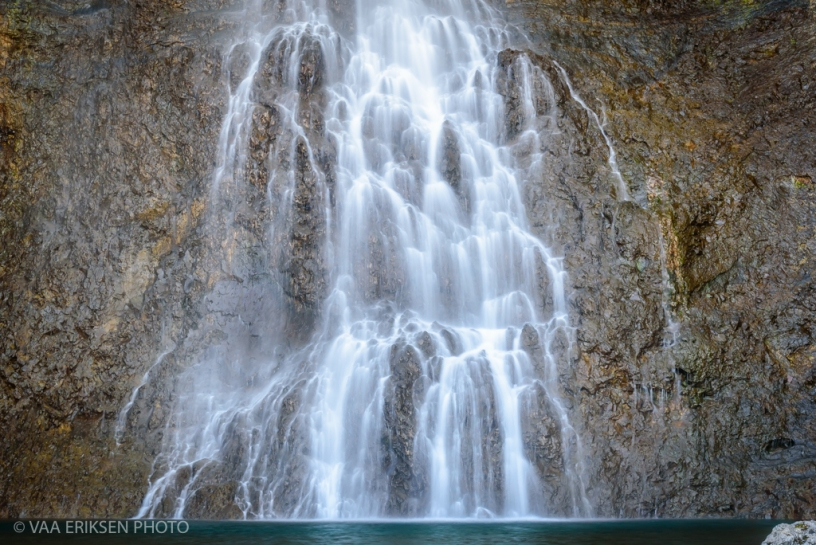 Hiking to Fairy Falls