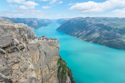 Pulpit Rock in Norway (1 of 1)