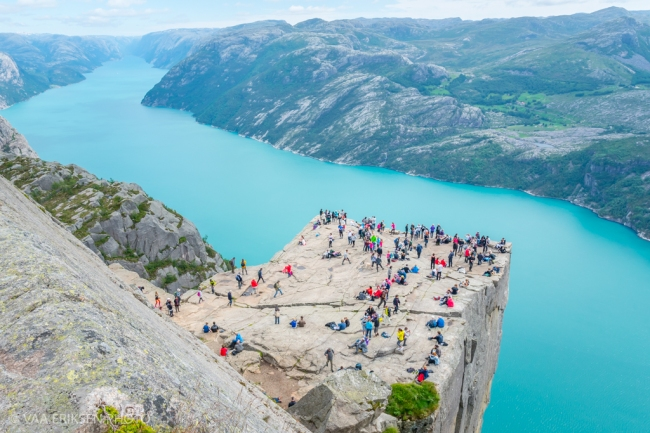 Pulpit Rock in Norway II (1 of 1)