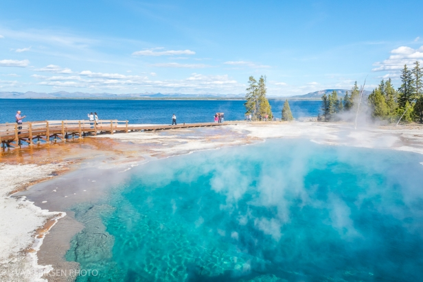 Hot Spring Yellowstone Lake