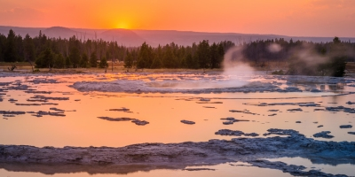 Lower Geyser Basin Yellowstone
