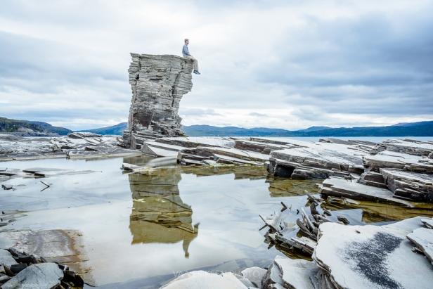 Nasjonal turistvei Havøysund Norge
