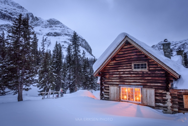 skiing to skoki lodge