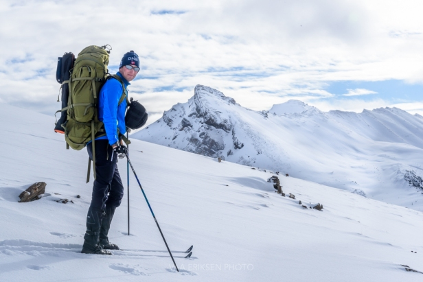 backcountry skiing banff