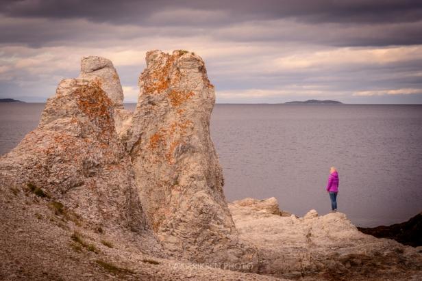 Rock formations in Finnmark