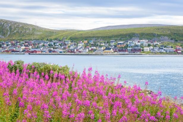 Fishing village Kjøllefjord