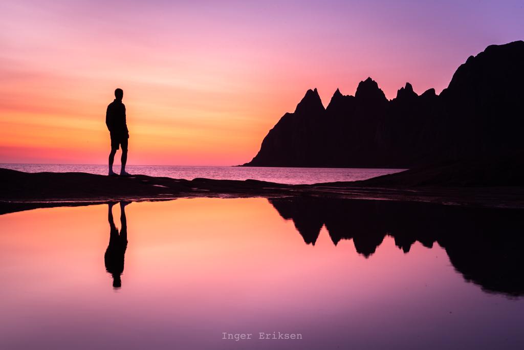 Tungeneset Sunset Reflection