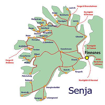 senja map